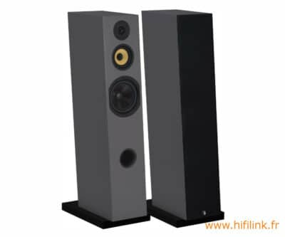davis acoustics courbet n 8 gris satin