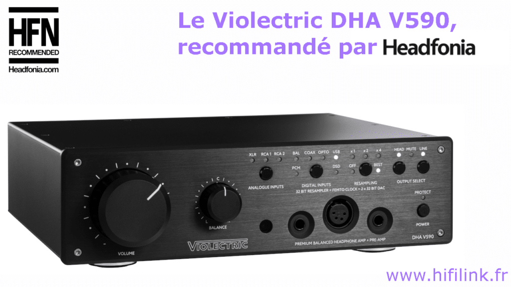 test de l amplificateur violectric dha v590