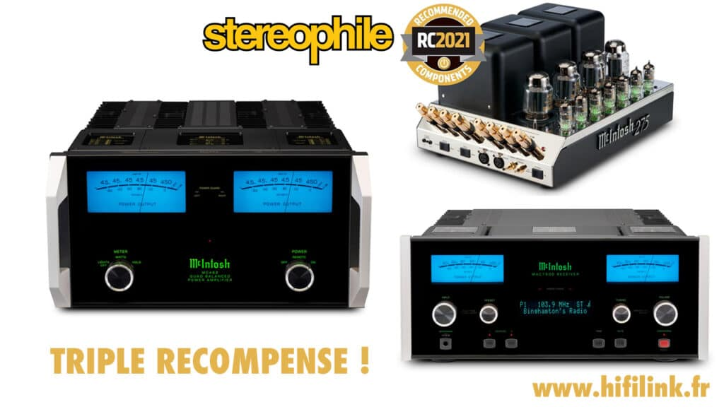 triple recompense stereophile RC 2021