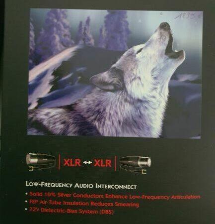 AUDIOQUEST WOLF XLR 5M - SUBWOOFER