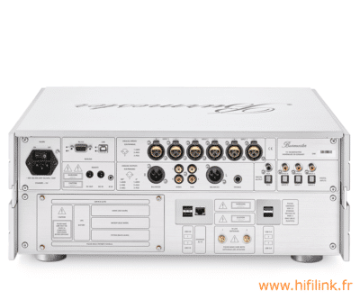 burmester 111 Music center reference line connectiques
