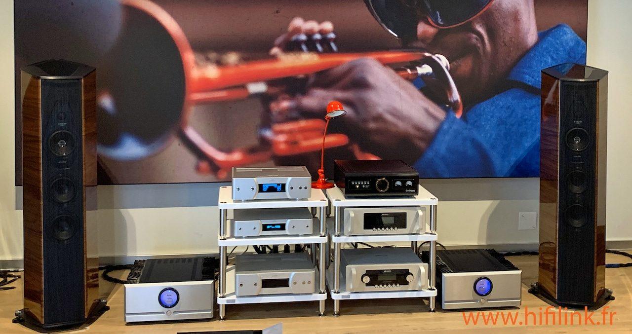 enceinte SF EX3ME en ecoute installation