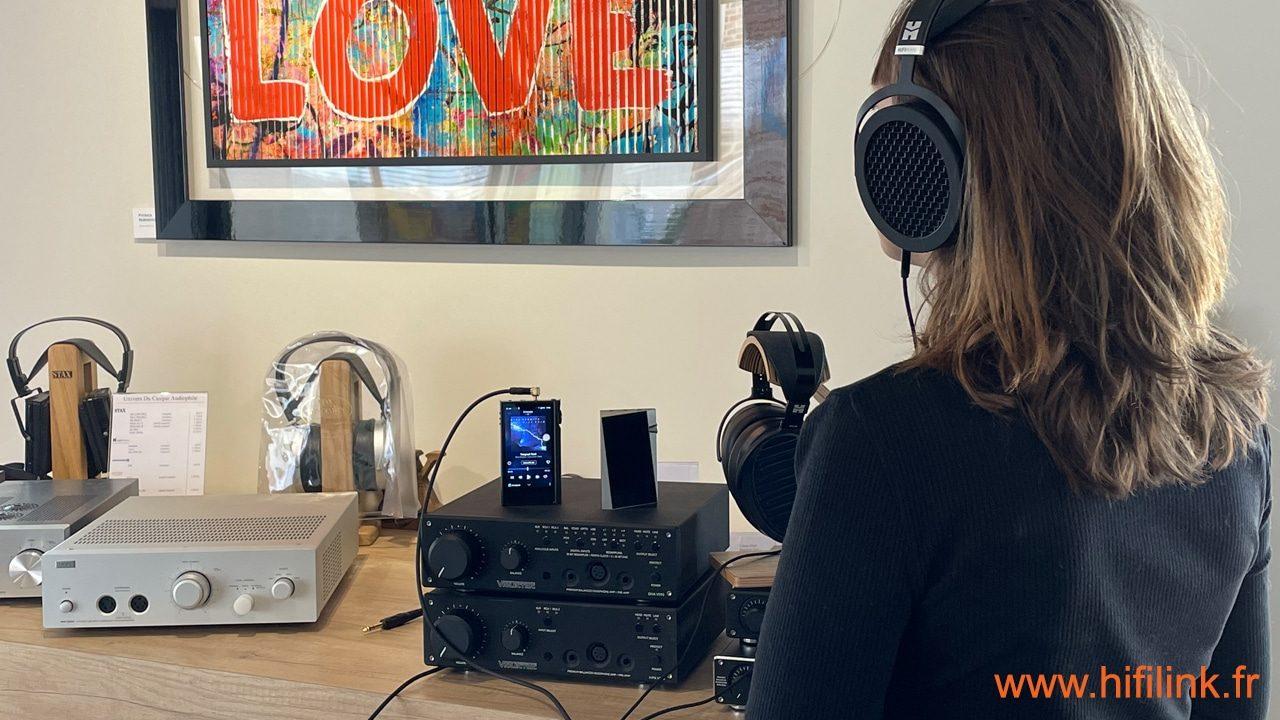 baladeurs audiophiles chez hifi link Lyon