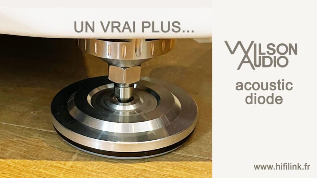 wilson audio acoustic diode essai