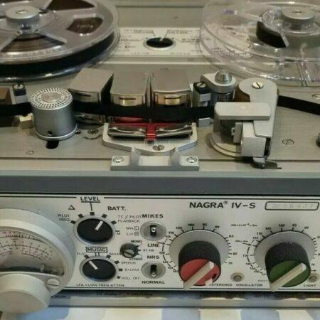 Magnétophone NAGRA IV-S Kudelski Magnétophone