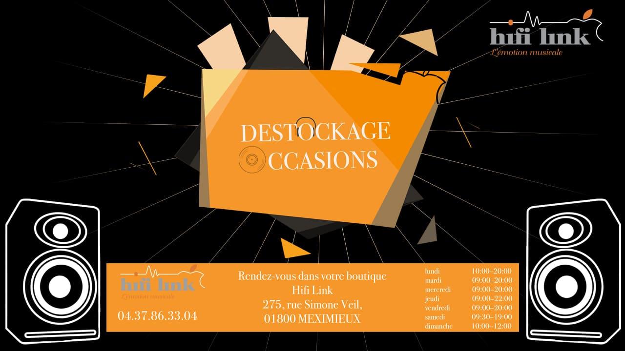 Destockage occasion hifi