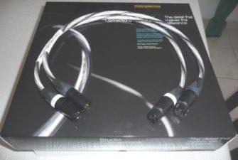 """Câbles XLR modulation 0.60m """"STUDIO CONNECTIONS"""""""