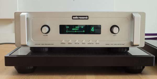 Audio Research Preampli LS27 silver